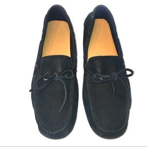 Cole Haan Suede Shoes 9.5 Driving Loafer Mocassin